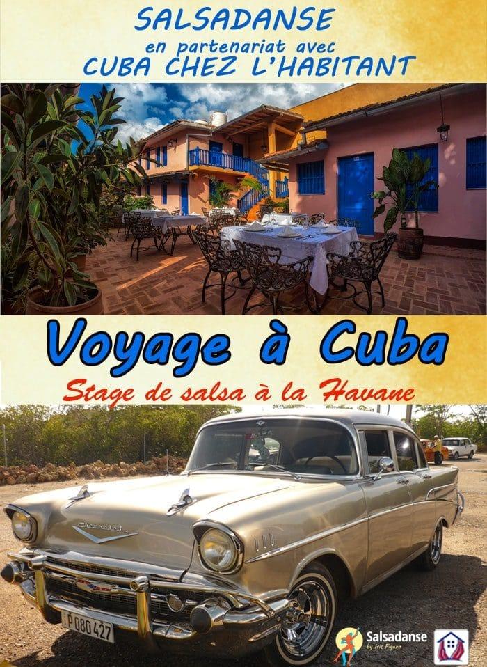 voyage à cuba depuis Paris