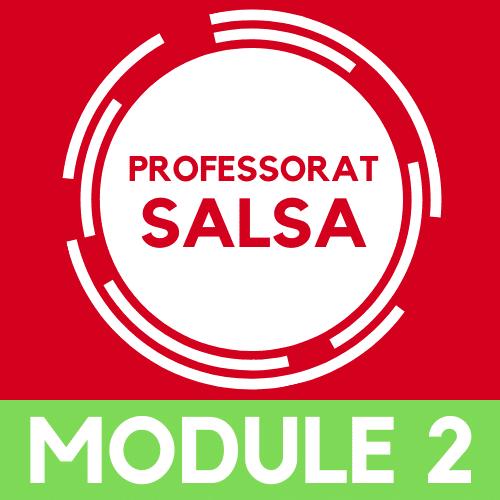 Devenir Professeur de salsa, module 2
